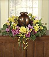 Memorial Wreath & Urn