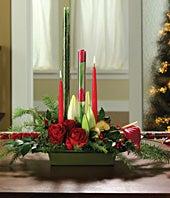 Christmas Candle &...