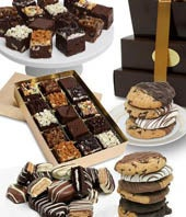 Classic Cookie and Brownie Gift Tower