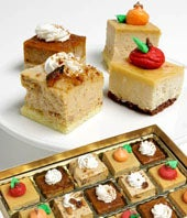 Fall Flavored Mini Cakes
