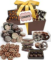 Congrats Chocolate Gift Tower