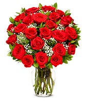 One Dozen Long Stem Red Roses with Godiva & Bear