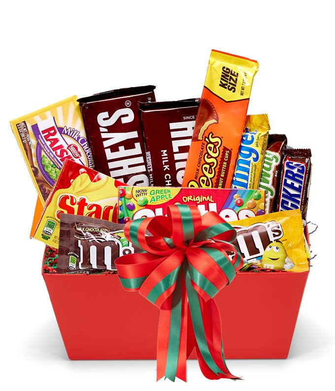 Santa's Sweet Tooth Basket
