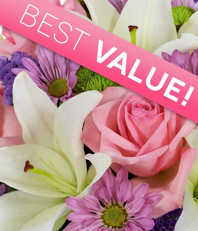 Springtime Florist Designed Bouquet