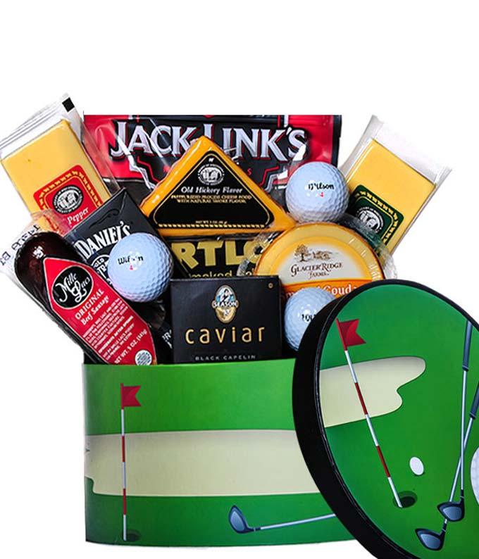 Golfer\'s Gift Basket