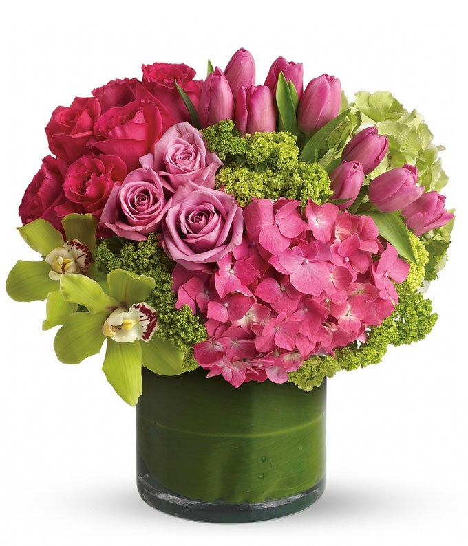 New Sensations Pink Bouquet