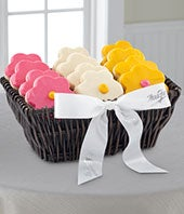Mrs. Fields� Spring Frosted Cookie Basket
