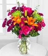 Vibrant Hues Bouquet