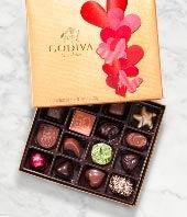 Godiva� Valentine's Day Gold Ballotin - 19 piece