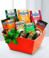 Classic Ghirardelli� Christmas Basket