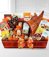 Cornucopia of Gratitude Gift Basket