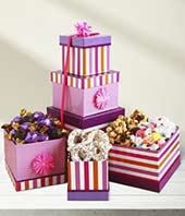 Love and Hearts Gift Tower