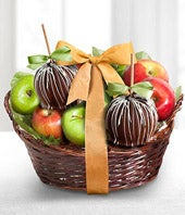 Apple gift basket