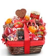Lovely Day Valentine Gourmet Gift Basket  - Better