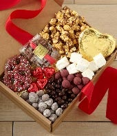 Valentine's Day Sumptious Sweets Gourmet Gift Box