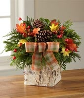 The FTD� Forest Floor Harvest Centerpiece by Better Homes and Gardens�