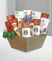 Starbucks� Holiday Gift Basket