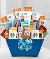 Summertime Starbucks Basket