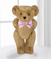 Vermont Teddy Bear� 15-inch Its a Girl! Bowtie Bear