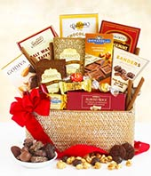 Ghirardelli� chocolate basket
