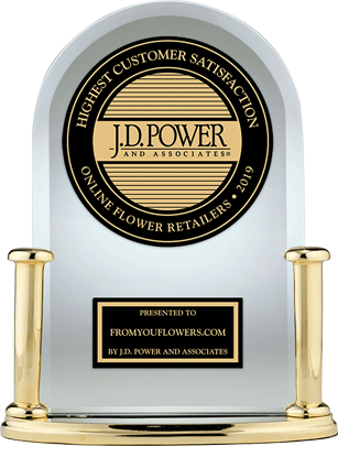 J.D. Power Trophy for Best Customer Satisfaction for online floral retailer