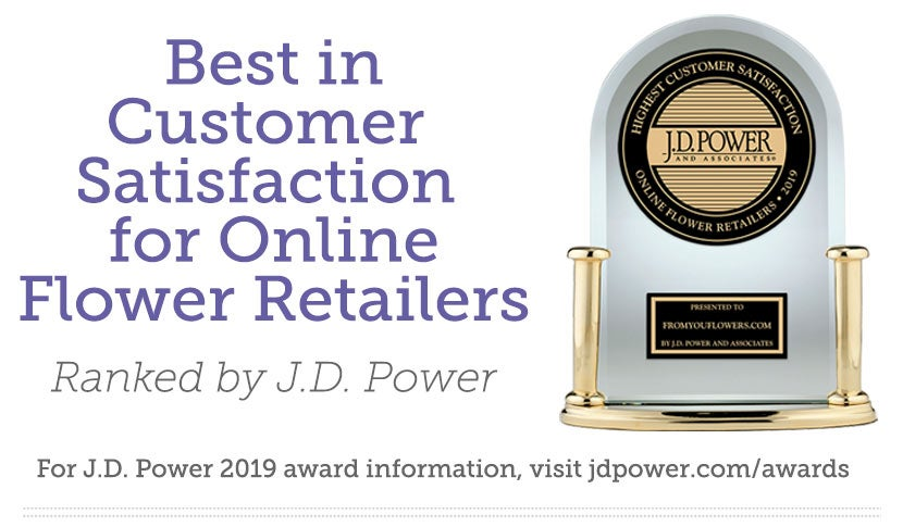 Highest Customer Satisfaction with Online Flower Retailers by J.D. Power