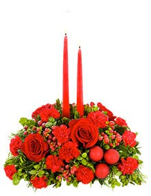 merry and bright christmas centerpiece was 3999 now 3399 - Red Christmas Flower