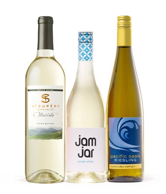 Sweet white wine trio gift at from you flowers sweet white wine trio gift mightylinksfo