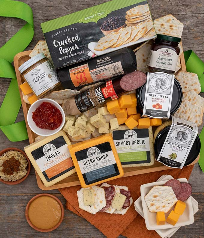 Meat Cheese & More Platter