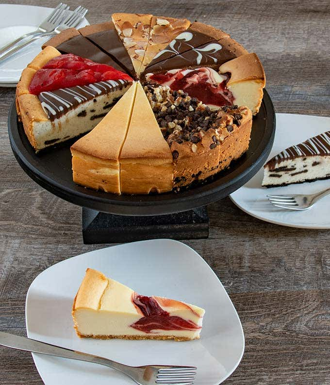 Premium Cheesecake Sampler