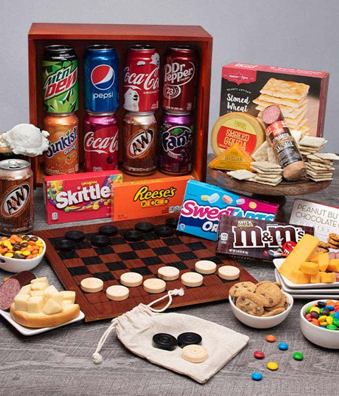 Game Night Galore Basket
