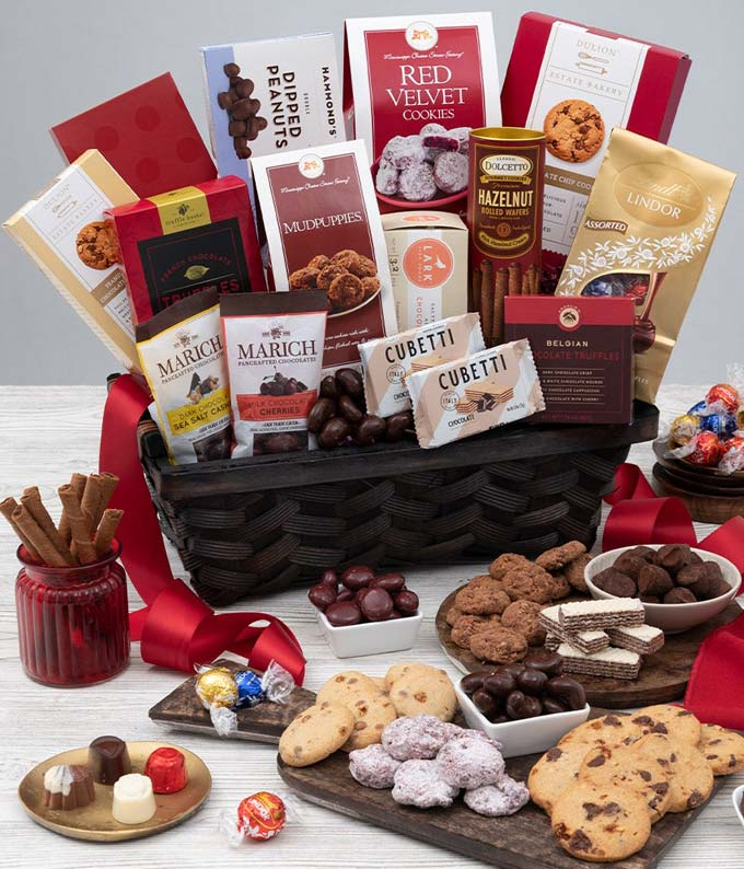 Chocolate, cookies, truffles, chocolate covered treats and more