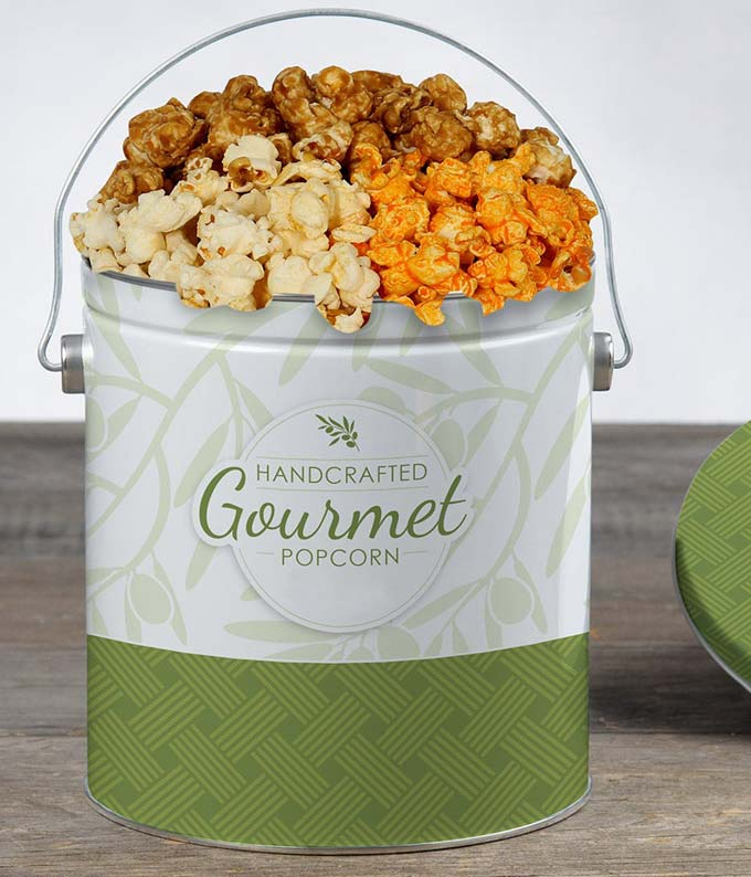 Popcorn Tin for Delivery