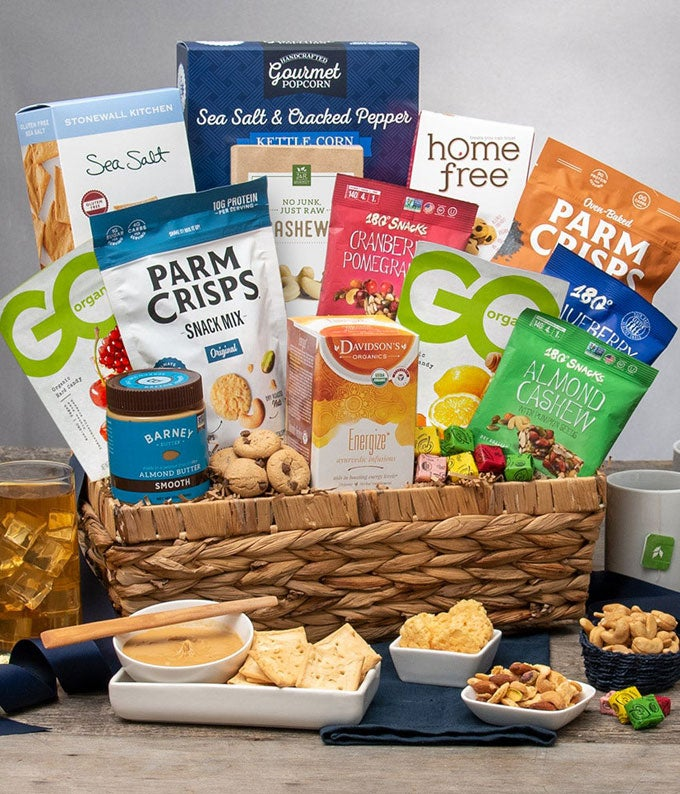 Wholesome Healthy Gift Basket