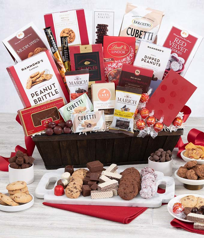Deluxe Chocolate Decadence Gift Basket