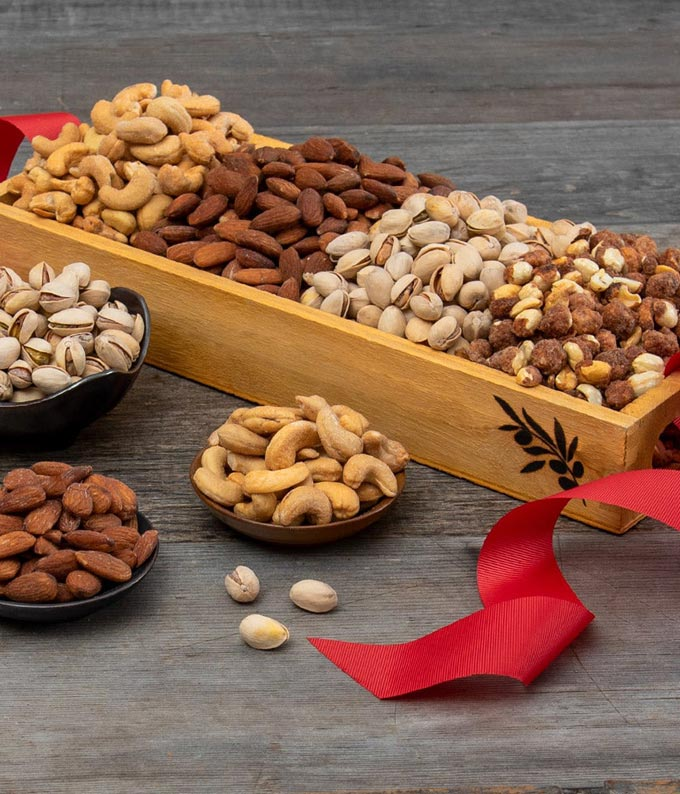 Roasted Salted Nut Tray