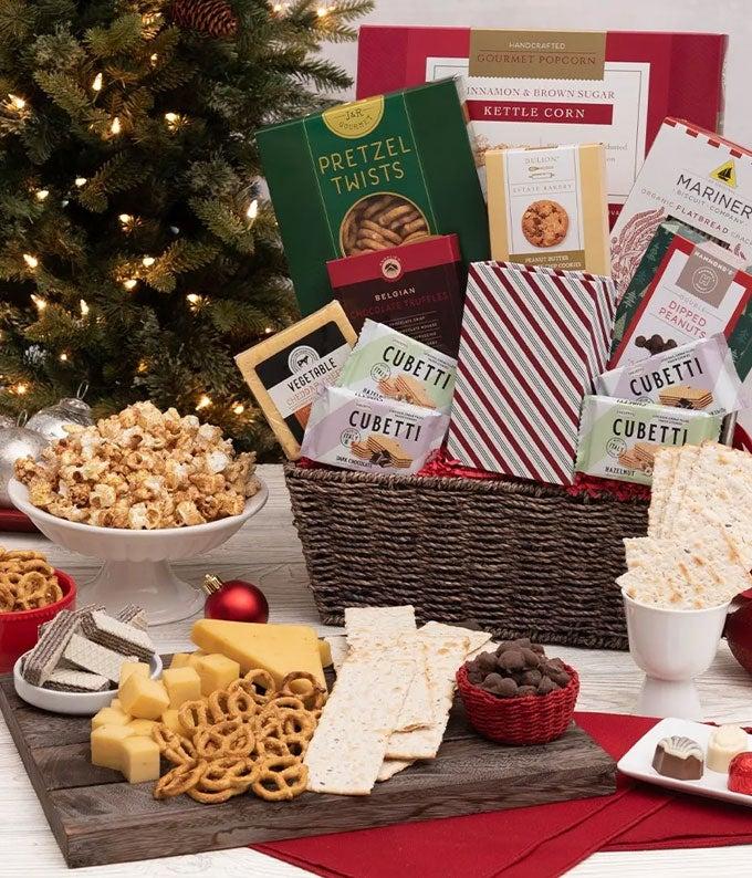 Classic Christmas Delights Basket