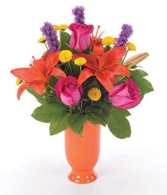 Tangerine Supreme Bouquet