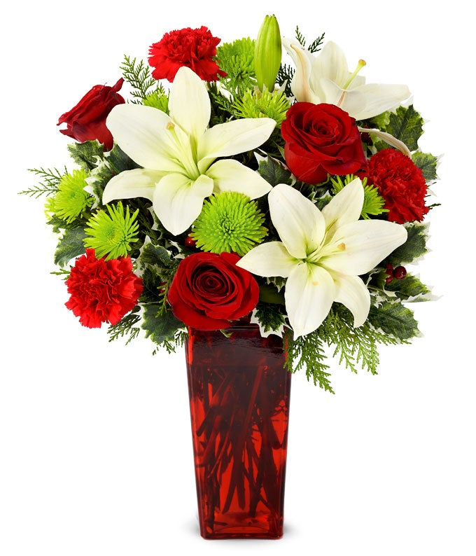 Merry Christmas Wishes Bouquet