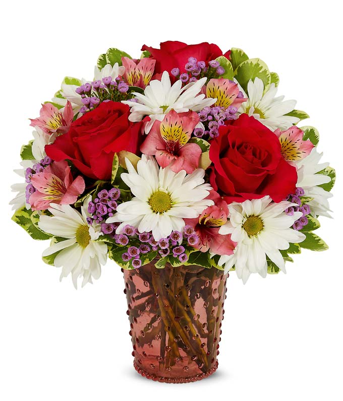 Mixed Floral Hobnob Bouquet