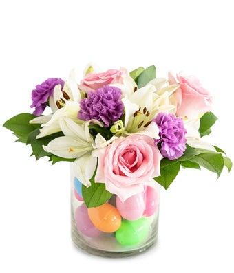 Pastel Egg-mazement Bouquet
