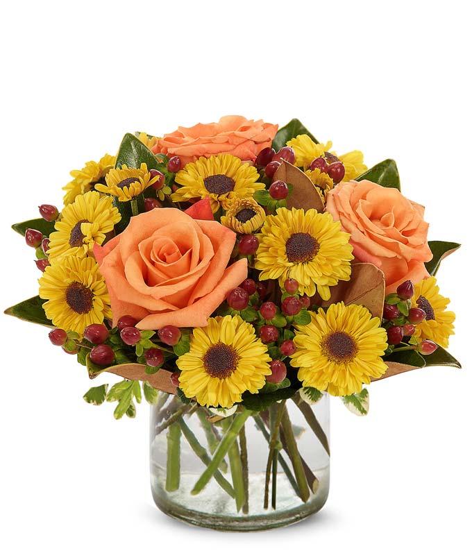 Bronze Harvest Bouquet