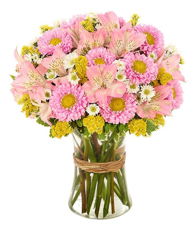 Pink Sunshine Bouquet