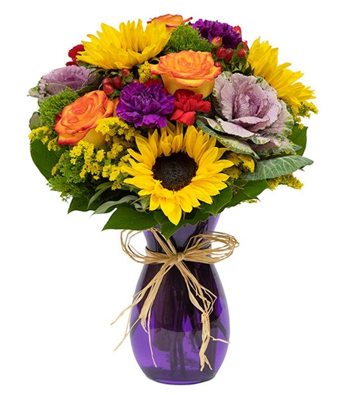 Autumn Artisanal Floral Arrangement