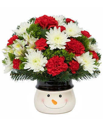Snowman Delight Bouquet