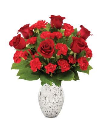 Sweet Silver Love Bouquet