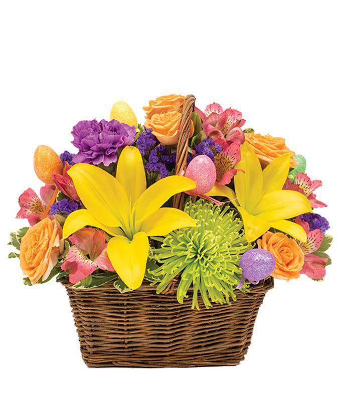 Easter Egg Surprise Basket