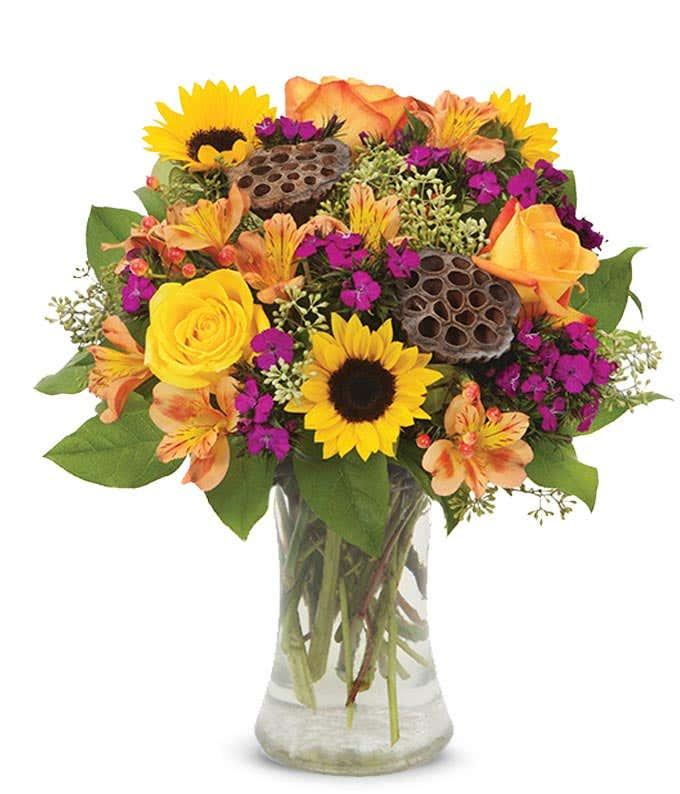 Romantic Fall Bouquet