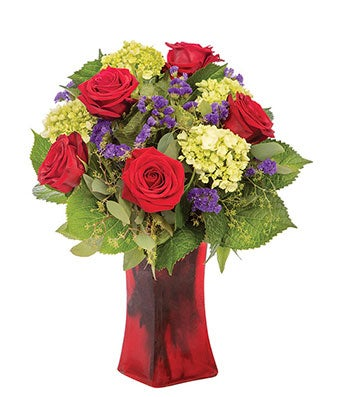 Blushing Rosy Love Bouquet