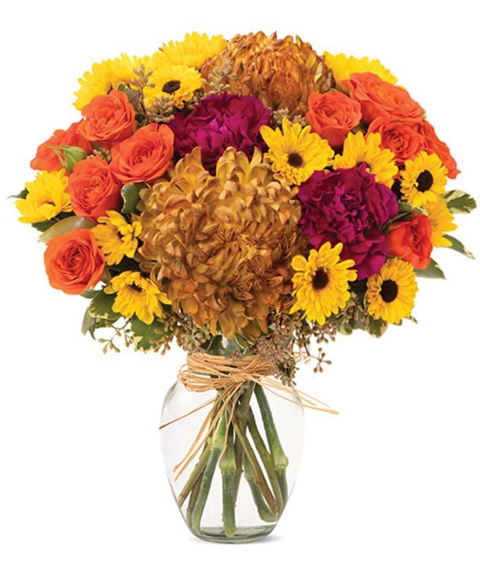 Frolicking Fall Bouquet